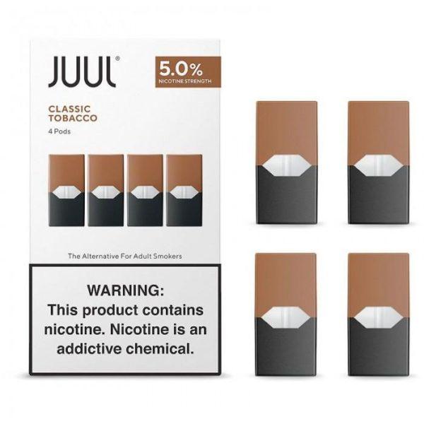 Juul Virginia Tobacco 4 pack