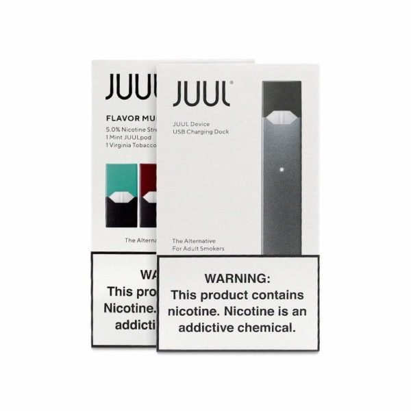 Juul Starter Kit - Mint & Tobacco
