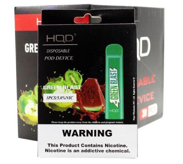 HQD Cuvie - Green Blast (Watermelon, Apple, Kiwi)