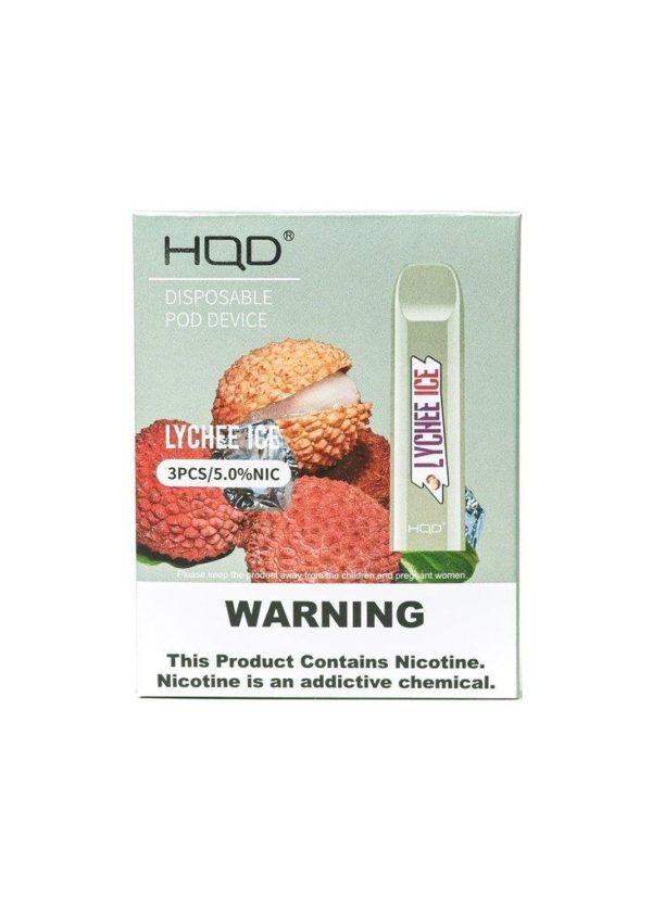 HQD Cuvie - Lychee Ice