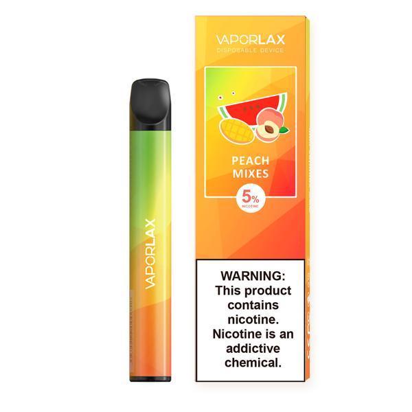 Vaporlax - Peach Mixes (Peach, Mango, Watermelon)