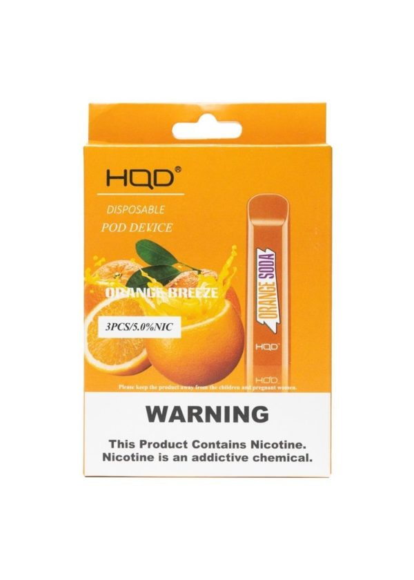 HQD Cuvie - Orange Soda