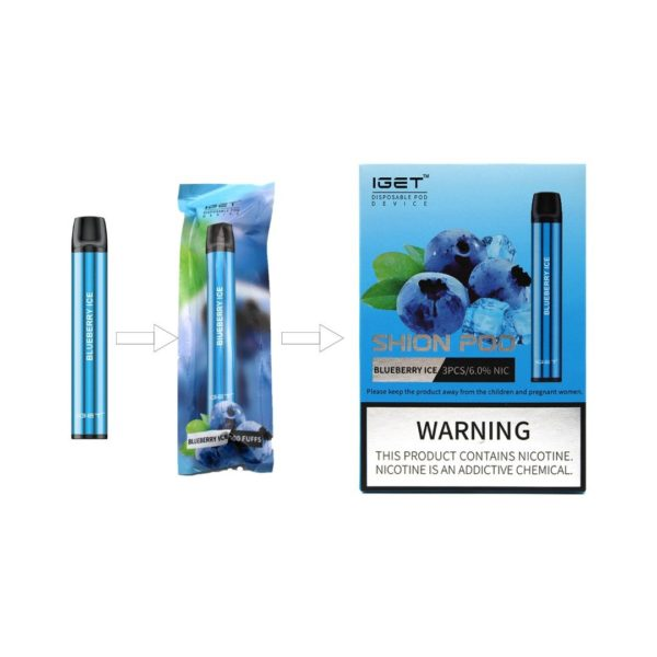 IGET 3 pack - Blueberry Ice