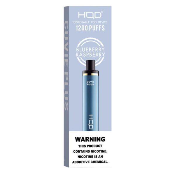 HQD Cuvie Plus - Blue Raspberry