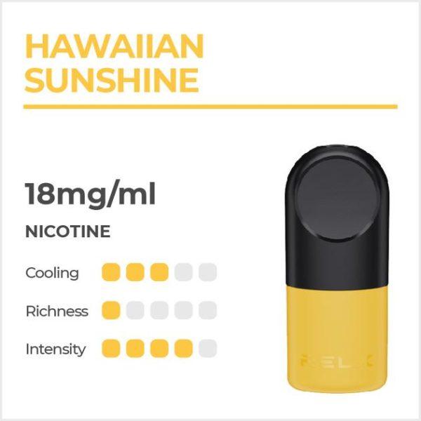 Relx Infinity Pods 3 pack - Hawaiian Sunshine
