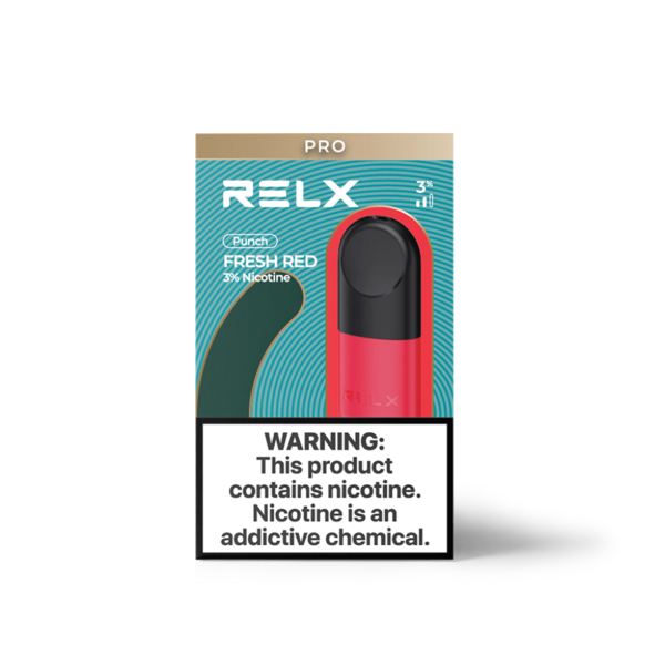 Relx Infinity Pods 3 pack - Fresh Red