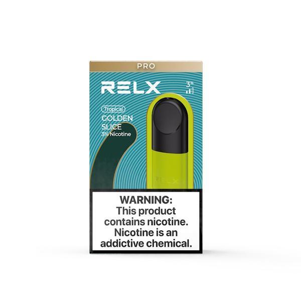 Relx Infinity Pods 3 pack - Golden Slice