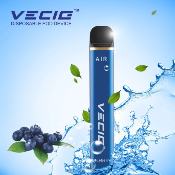 Vecig 2000 Puff Disposable device blueberry ice | Smartpods LLC