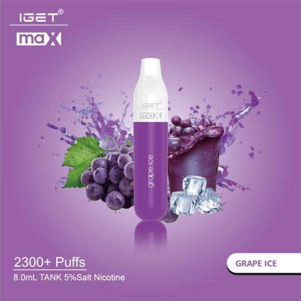 IGET Max Grape Ice Smartpods LLC